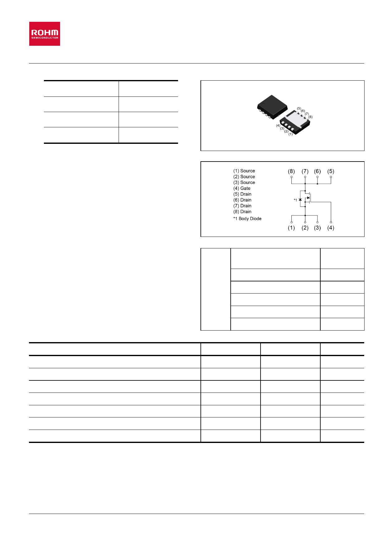 RQ3E080BN datasheet, circuit