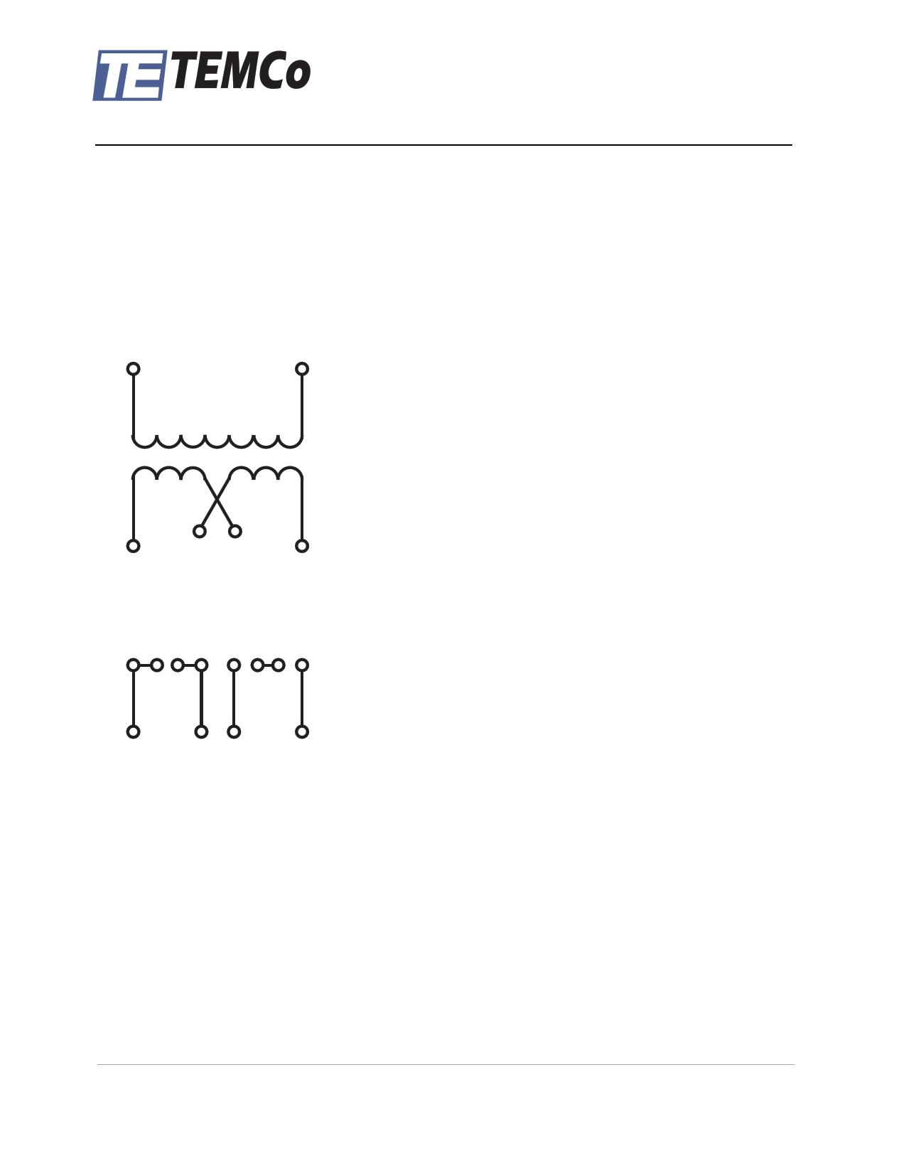 tt2236 pdf 데이터시트 - (tt2232 - tt2246) control transformer ... temco control transformer t01232 wiring diagram