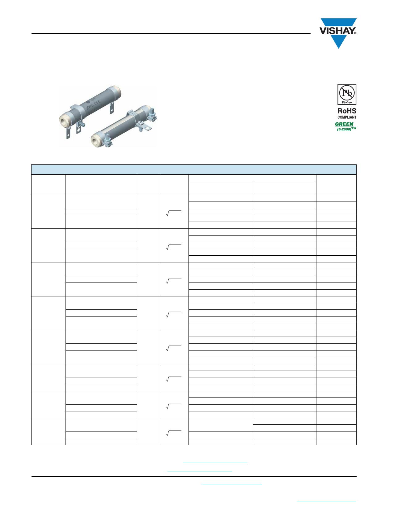 ZWS50 datasheet
