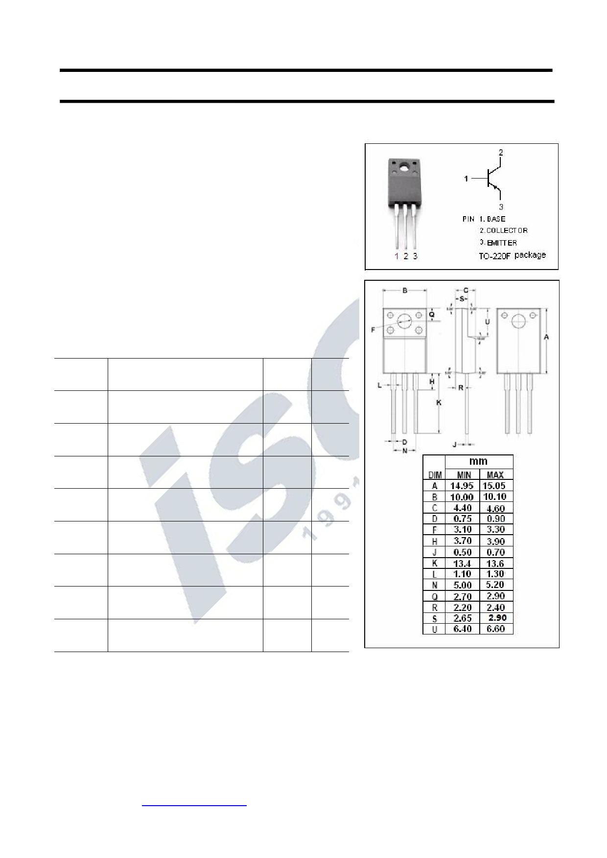KTA1659 Datasheet, KTA1659 PDF,ピン配置, 機能
