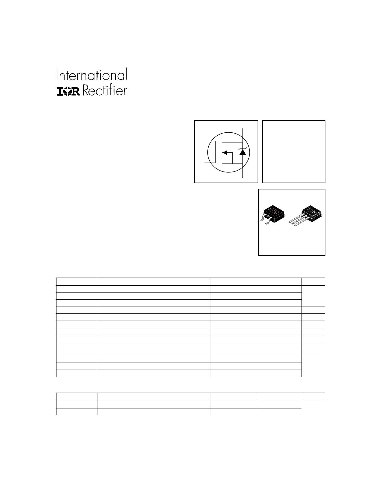 IRFZ44NL Datasheet, IRFZ44NL PDF,ピン配置, 機能
