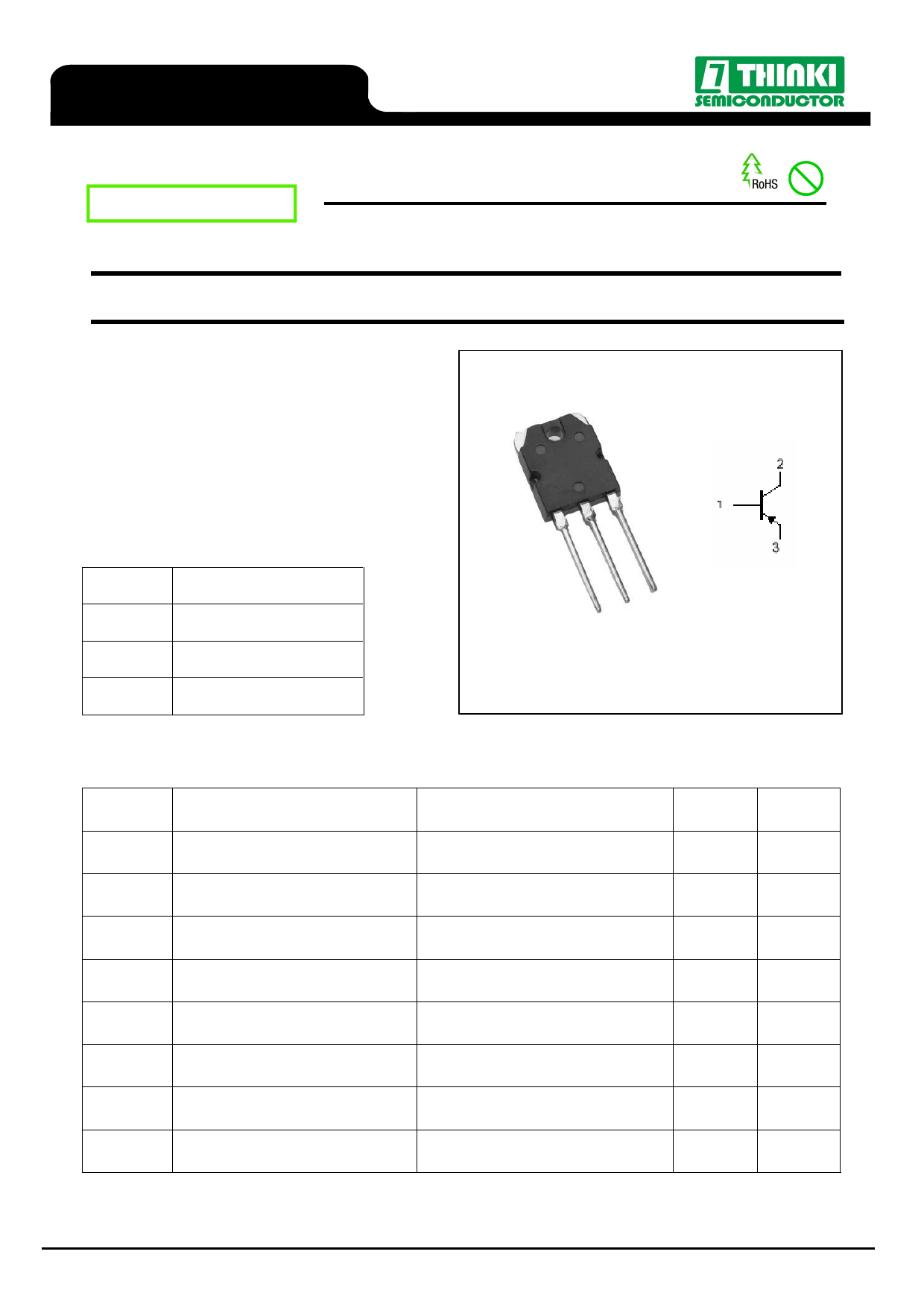 2SA1694 datasheet