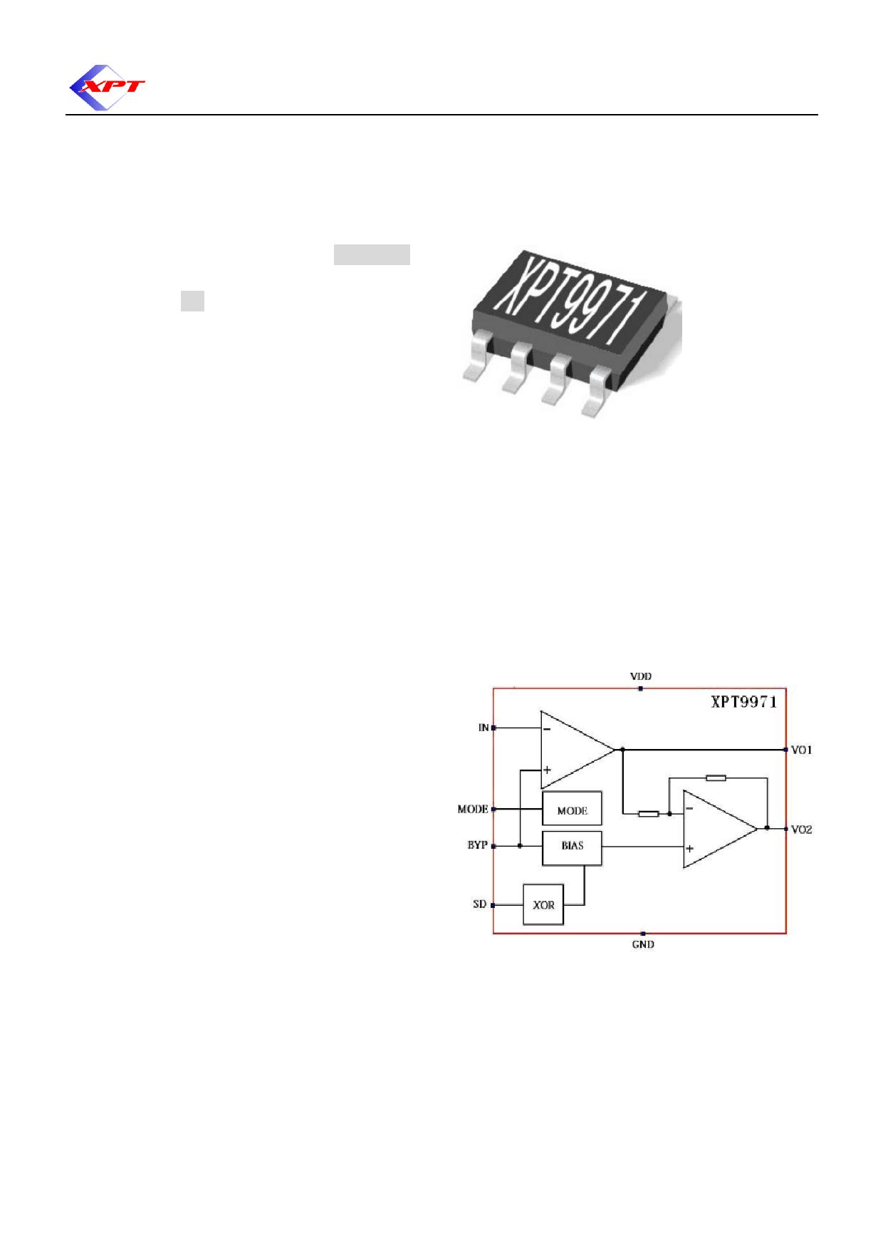 XPT9971ES pdf, schematic