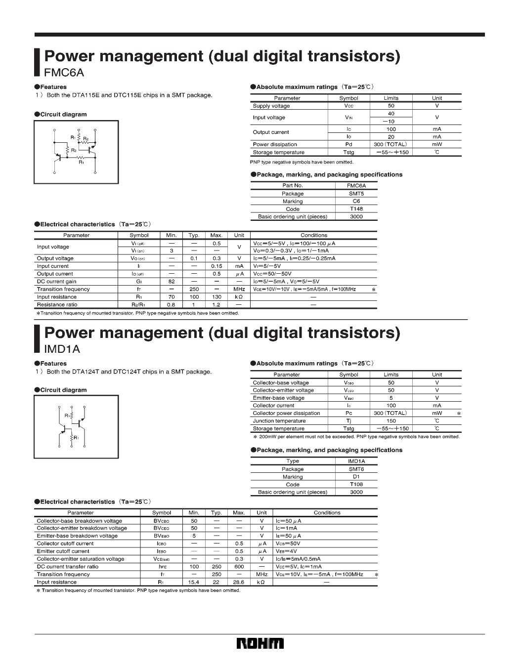 IMD1A دیتاشیت PDF