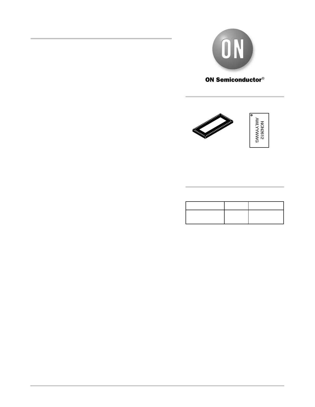 NCN2612 دیتاشیت PDF