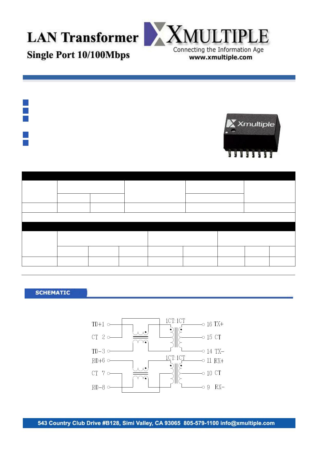 XF-LCZ3A1CA Datenblatt PDF