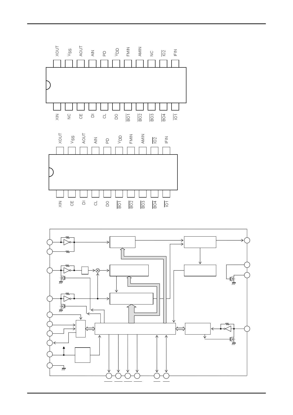 LC72131K 電子部品, 半導体