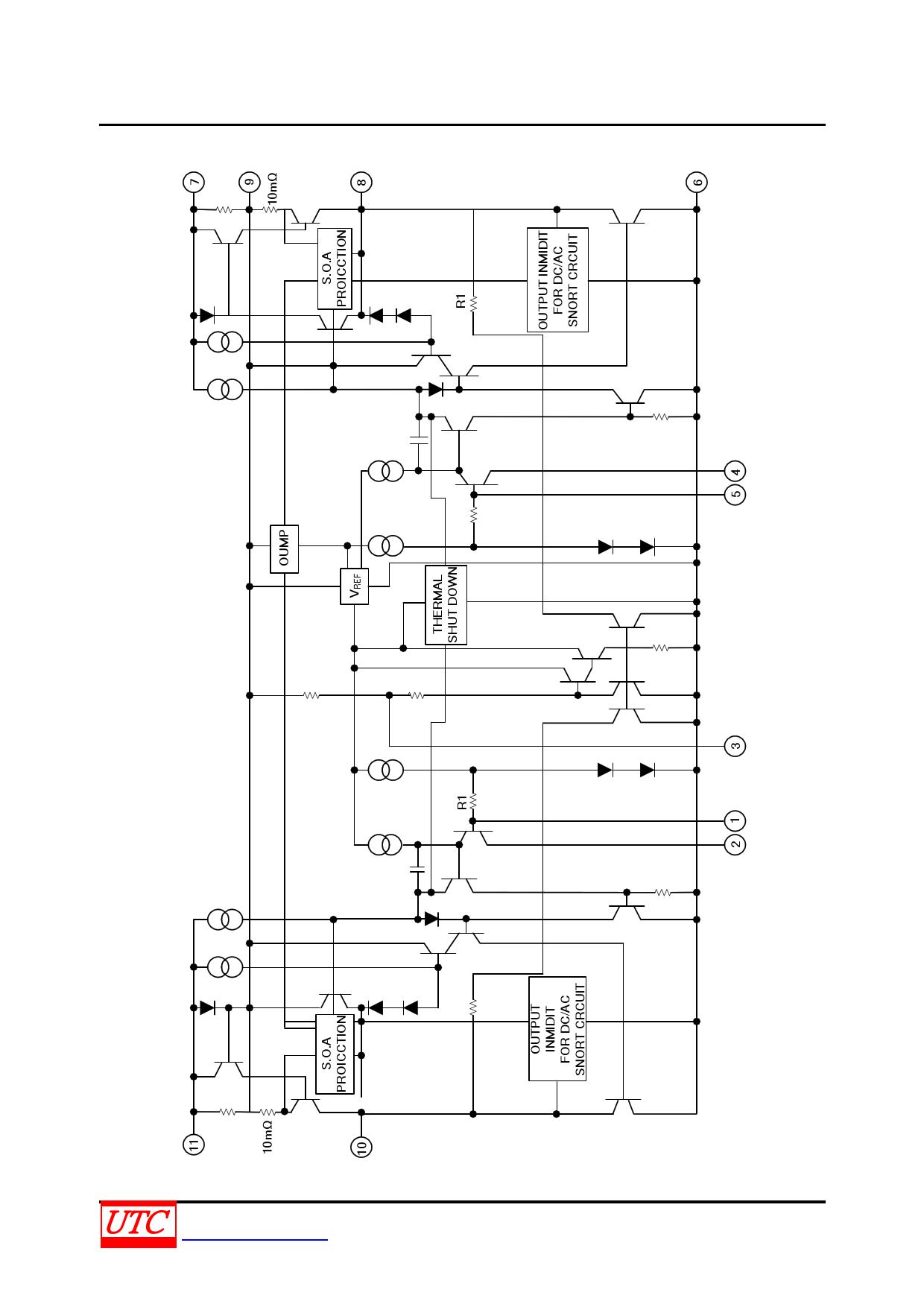 tda2005 fiche technique   datasheet pdf