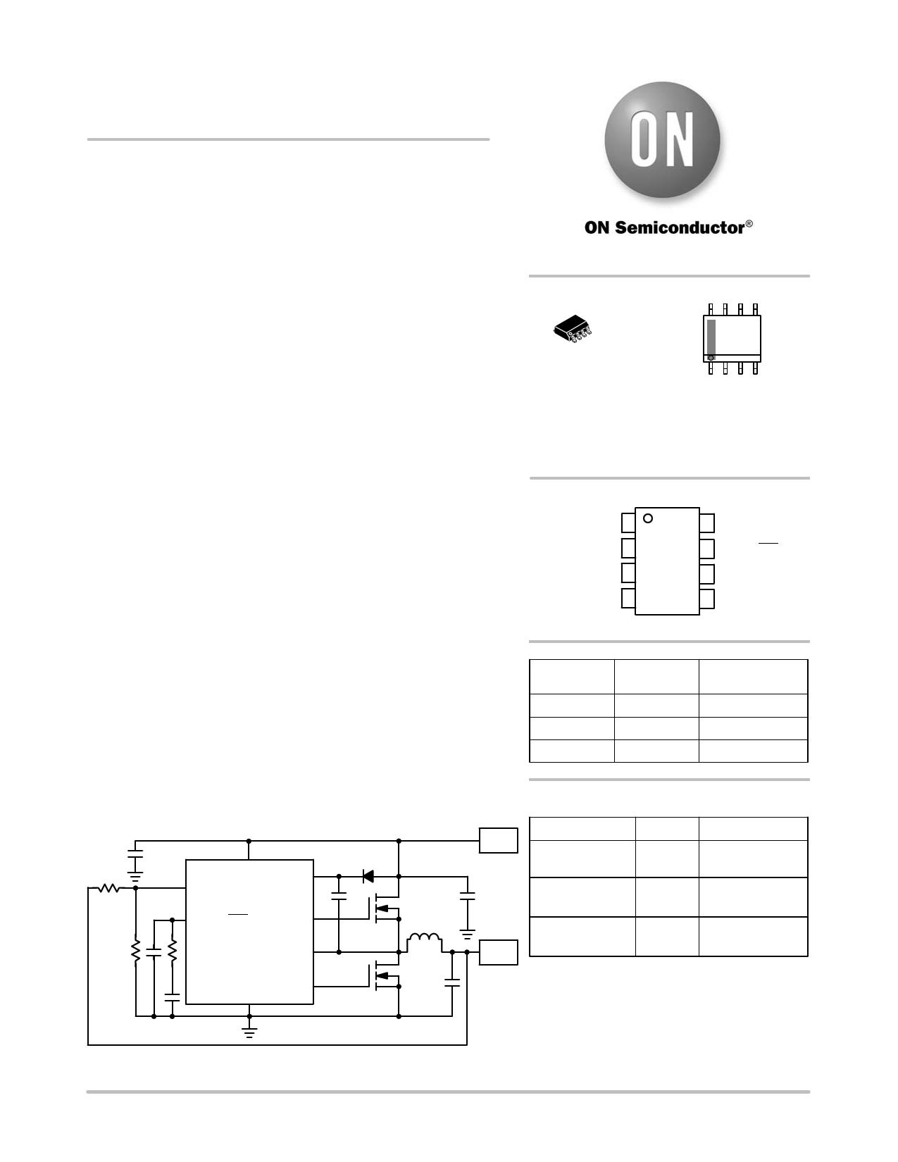 NCP1583 دیتاشیت PDF