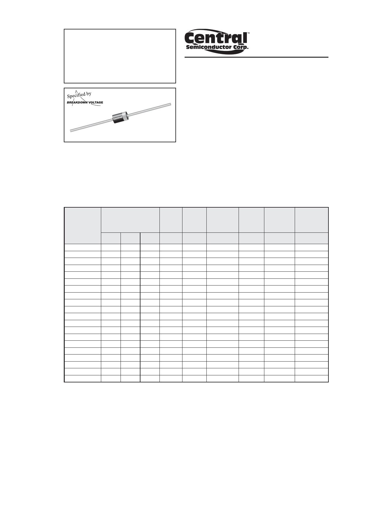 1.5CE10A Hoja de datos, Descripción, Manual