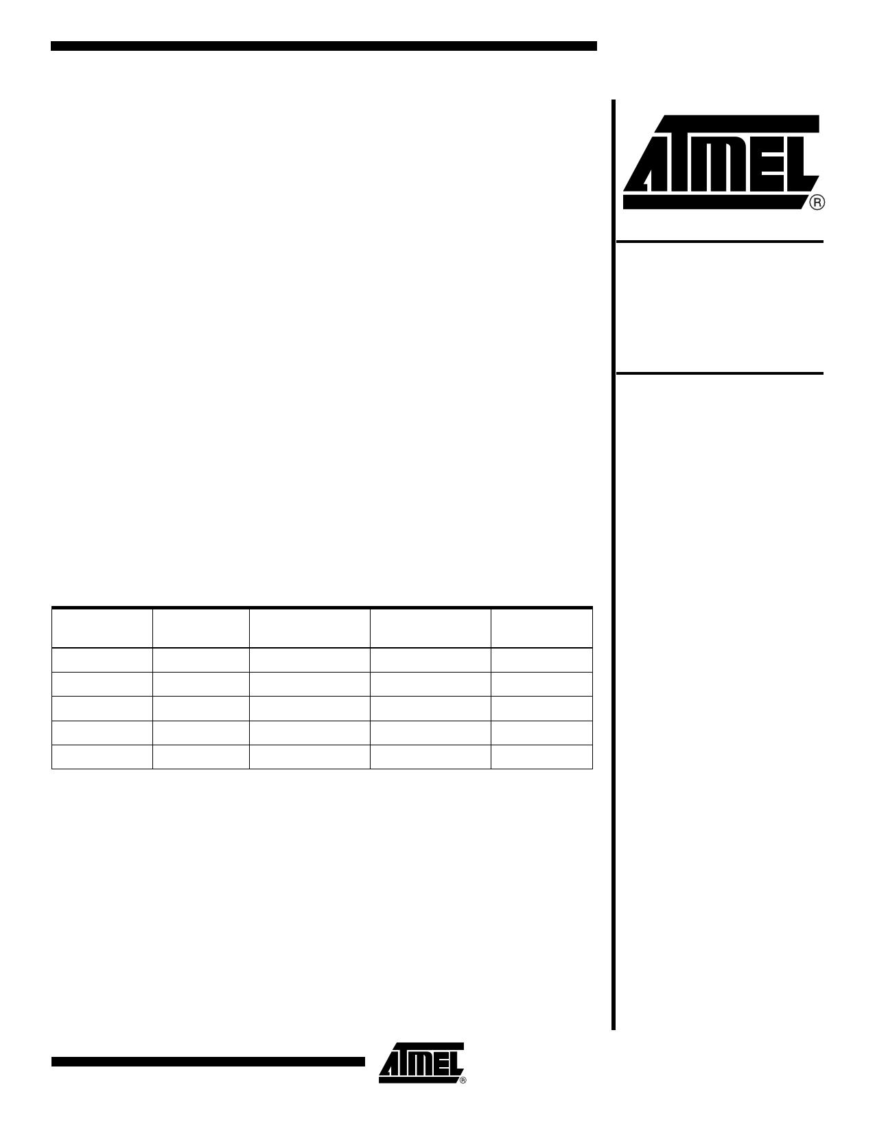 AT17N512-10CC Datasheet, AT17N512-10CC PDF,ピン配置, 機能