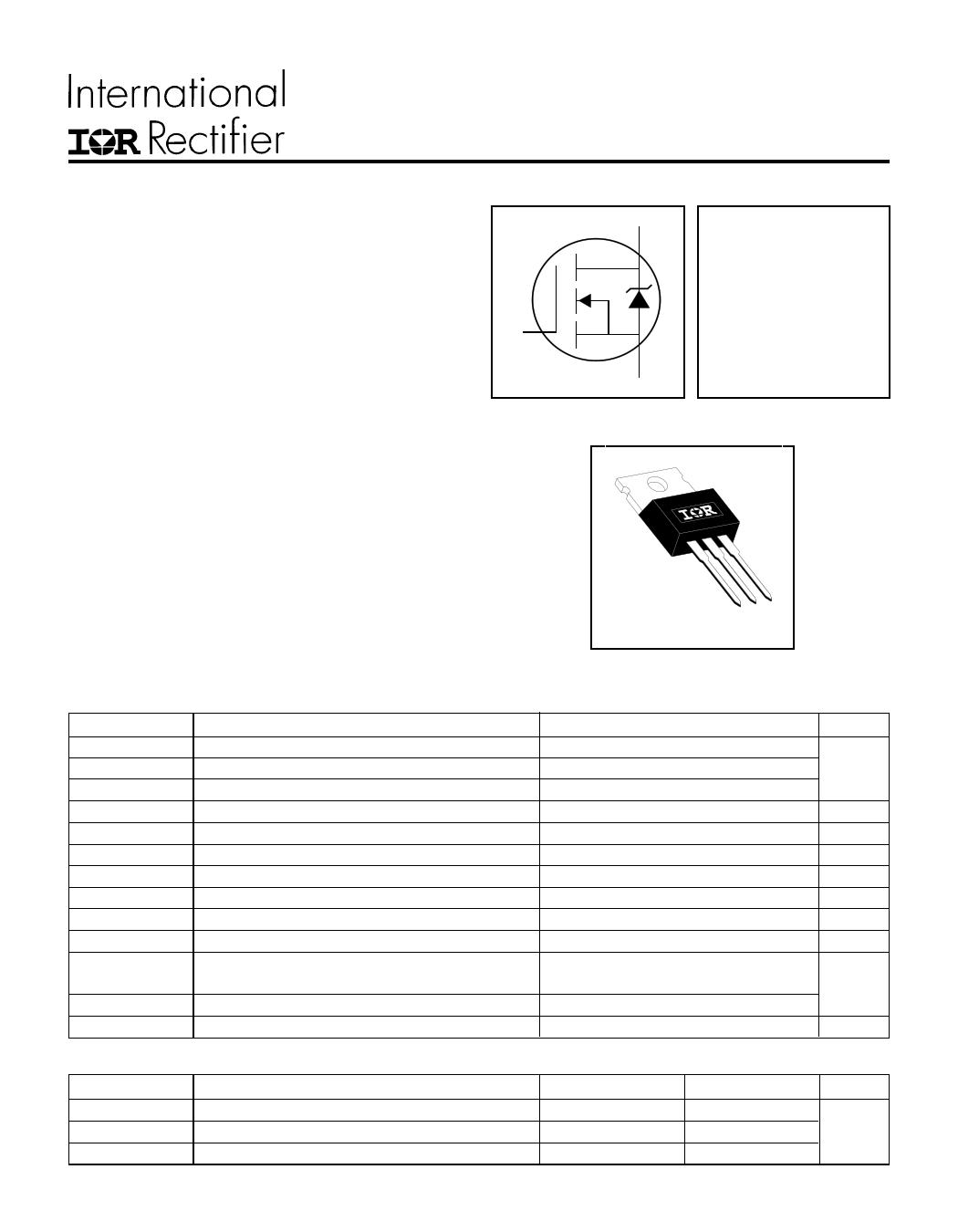 IRFZ48N Datasheet, IRFZ48N PDF,ピン配置, 機能
