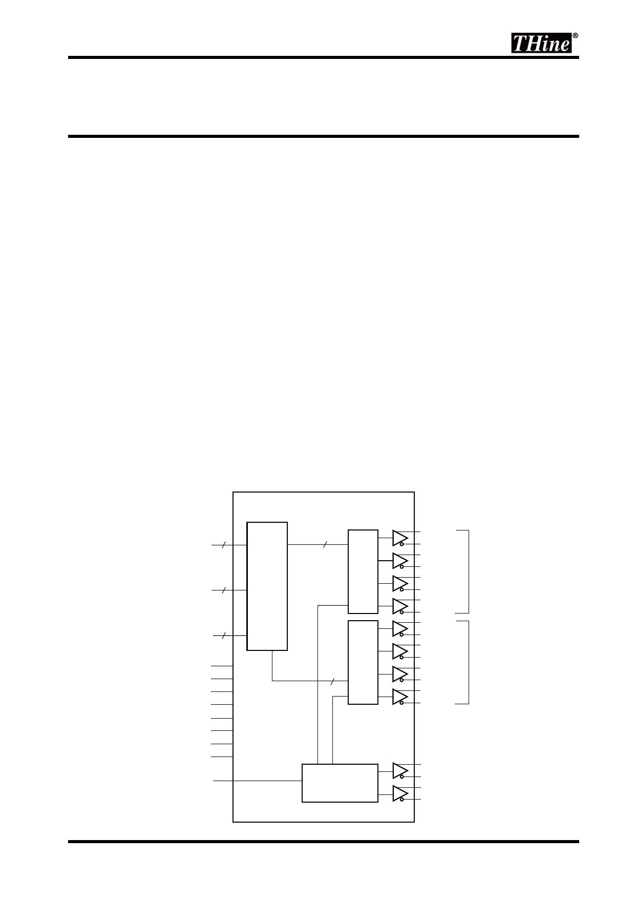 THC63LVD823B datasheet pinout pdf