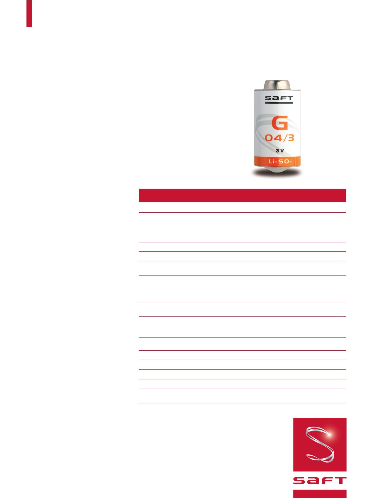 G03 دیتاشیت PDF