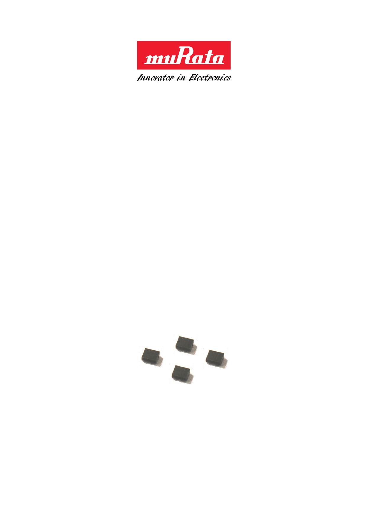 SAFFB751MAA0F0A 데이터시트 및 SAFFB751MAA0F0A PDF
