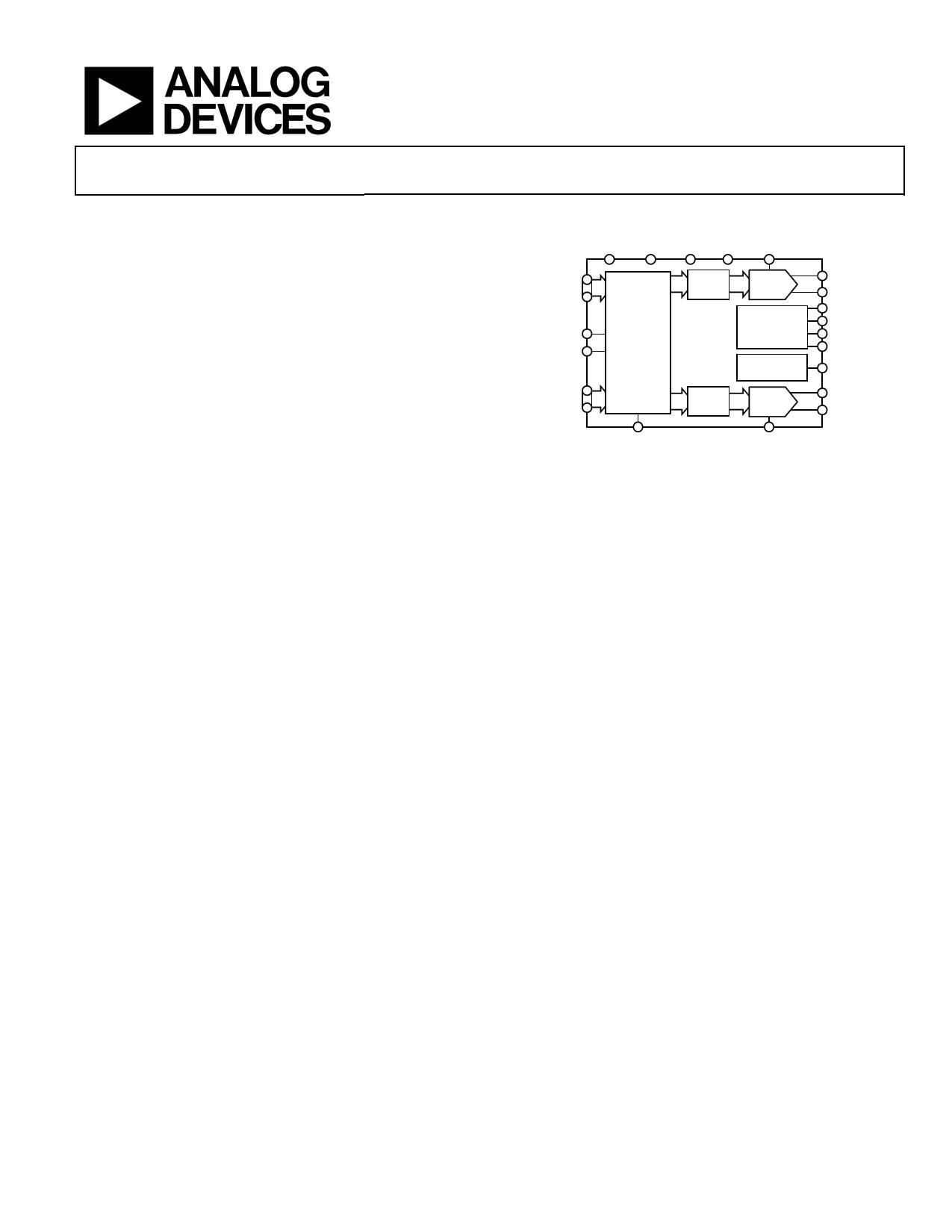 AD9709 دیتاشیت PDF