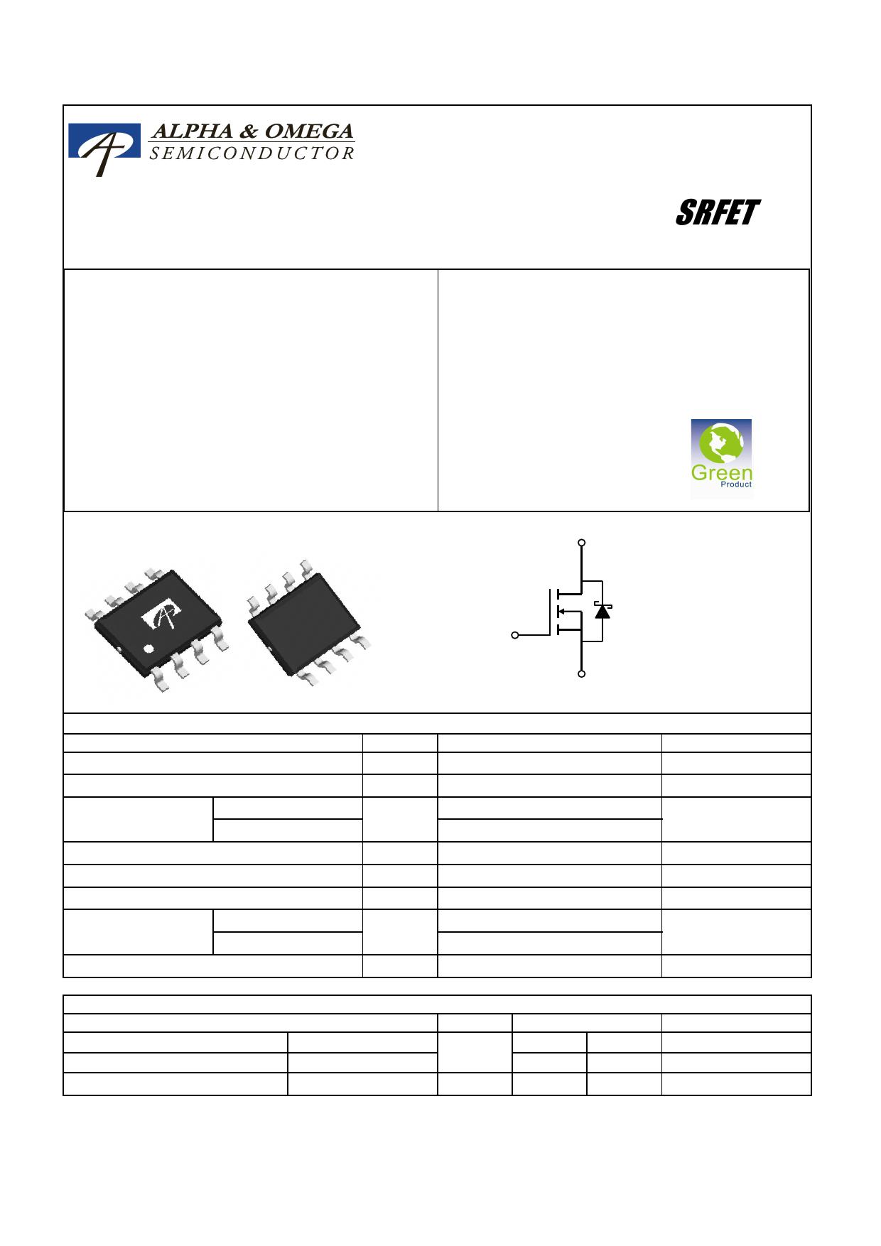 AO4708 datasheet