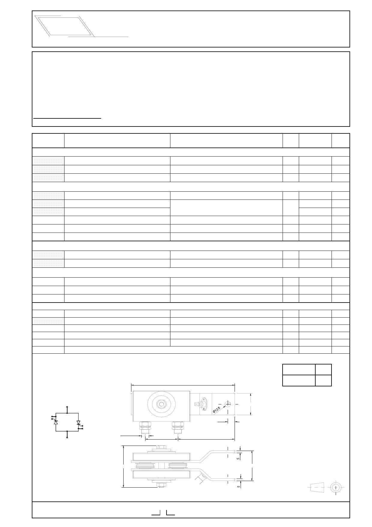 2-2WI-1000S16 Hoja de datos, Descripción, Manual