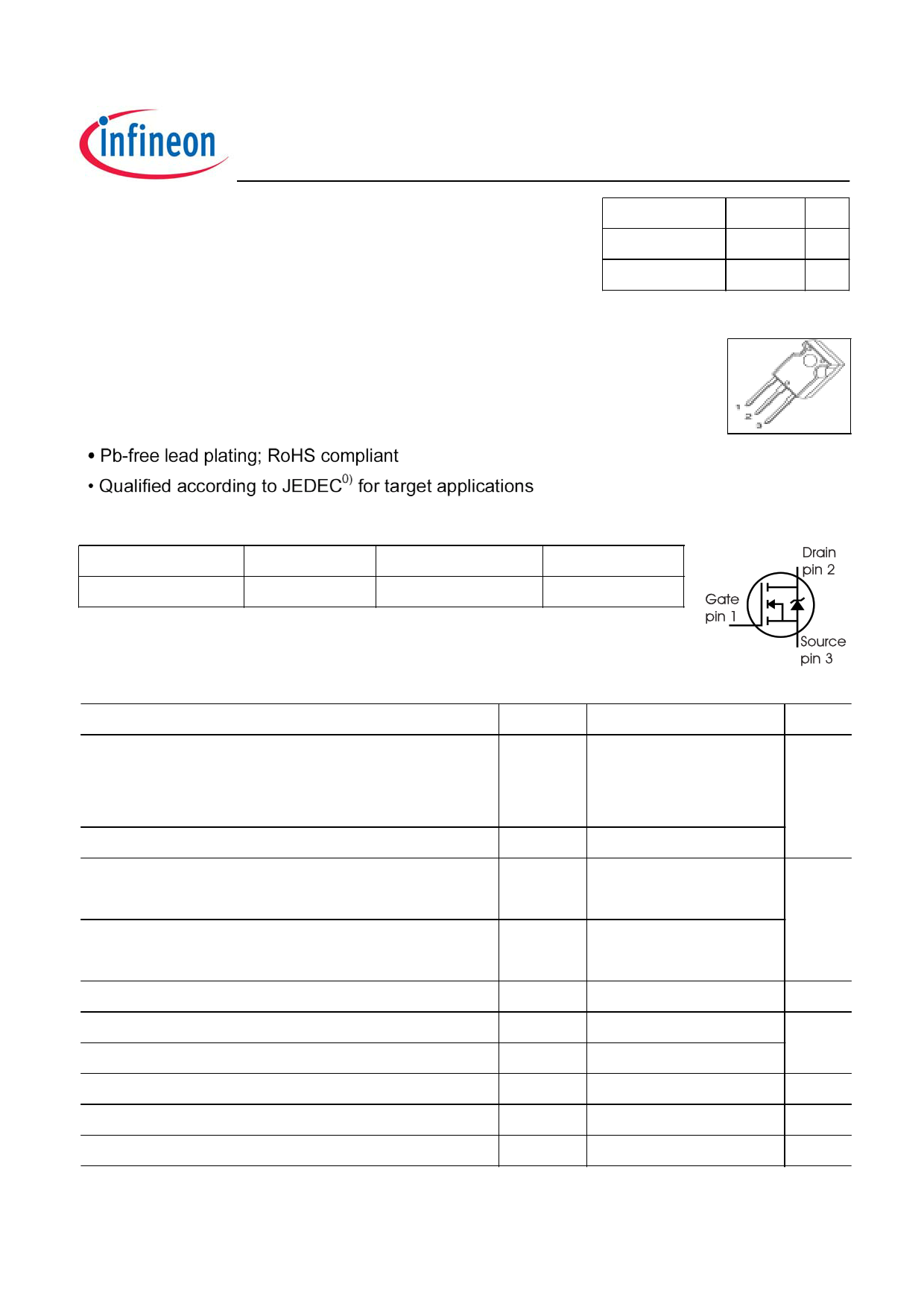 47N60C3 datasheet image