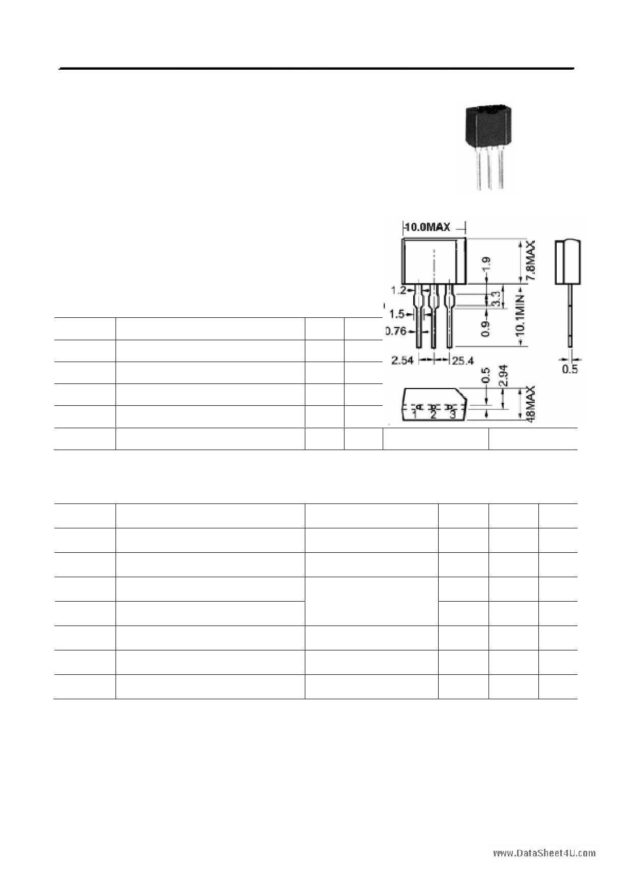 X0405MF datasheet