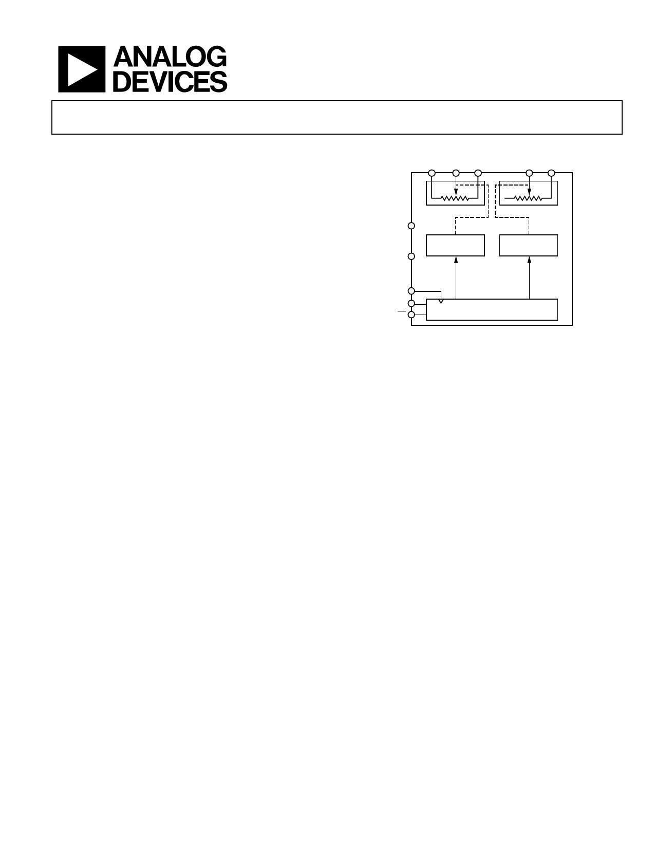 AD5162 データシート