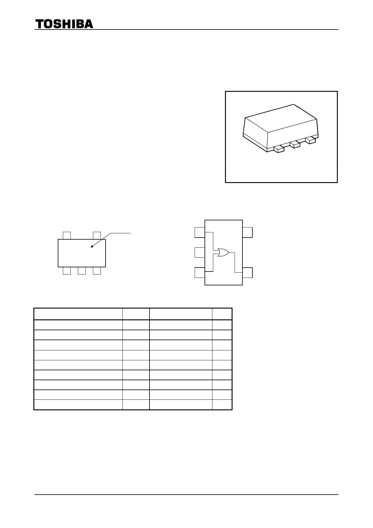 TC7SZ32AFS دیتاشیت PDF