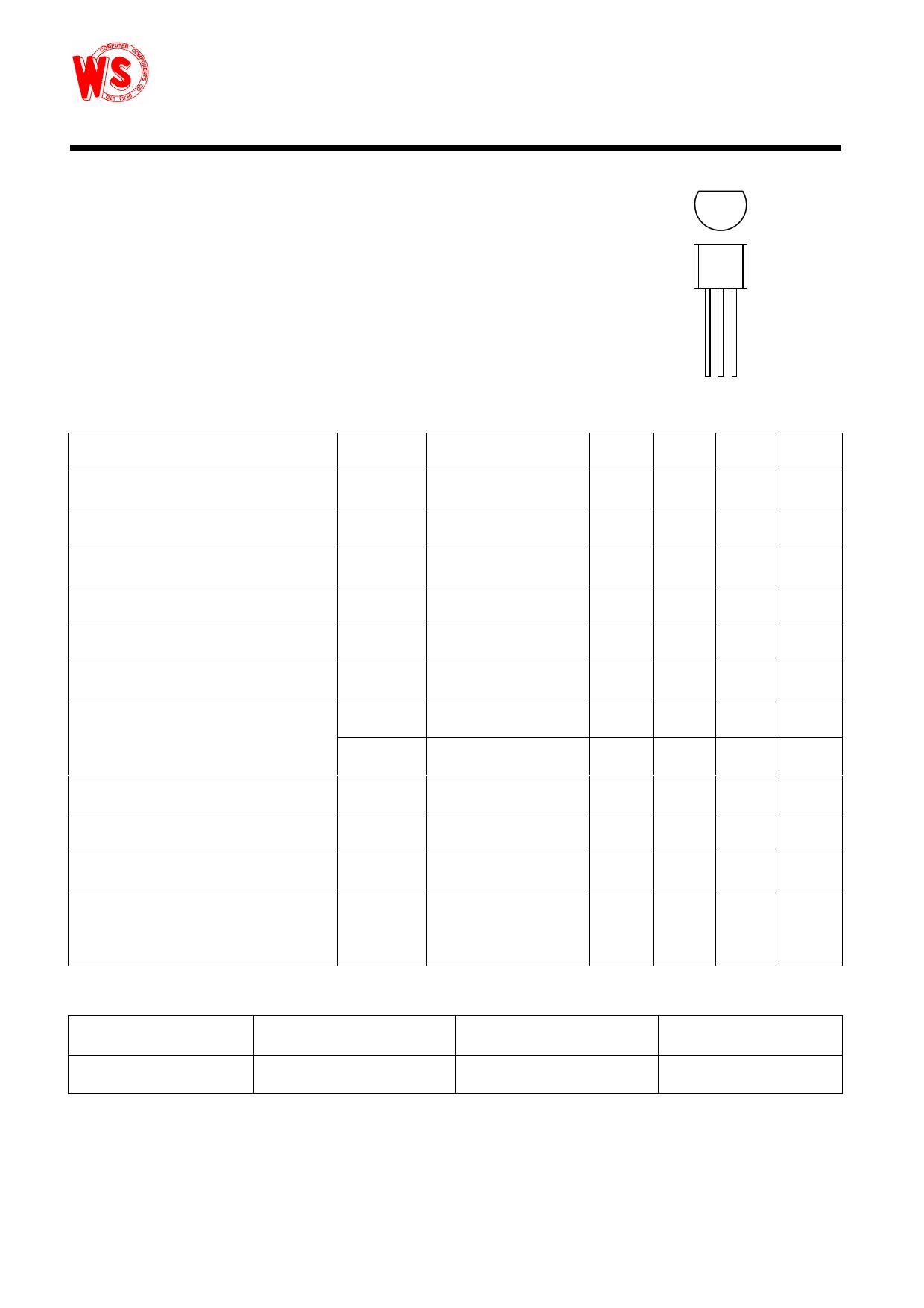 S8550 datasheet pinout