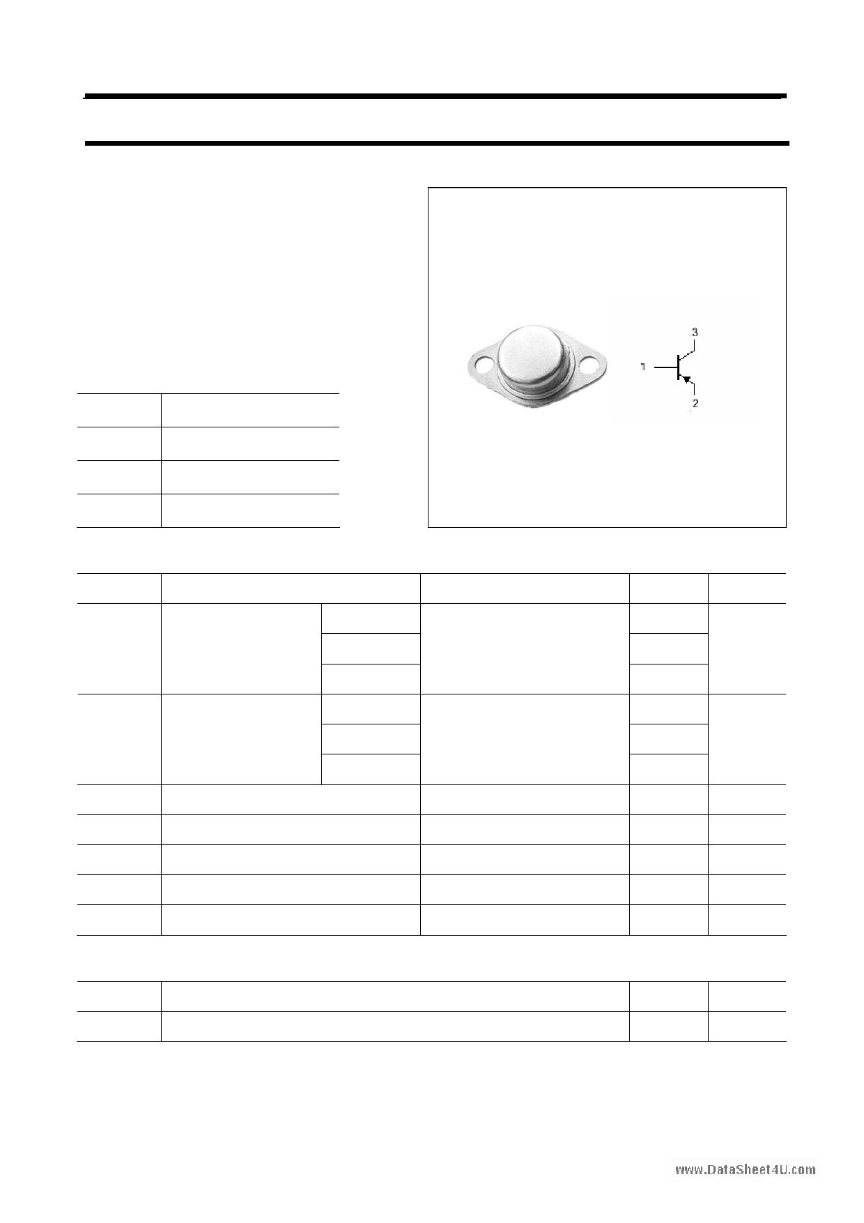 2N5611 دیتاشیت PDF