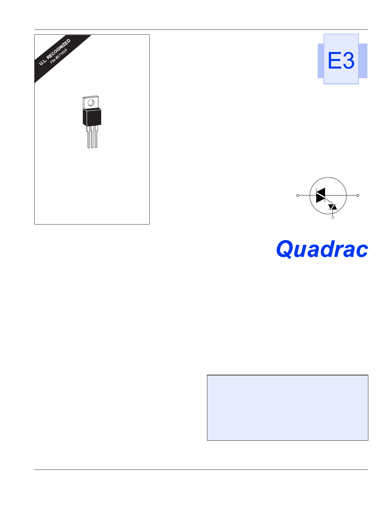 Q2004LT datasheet