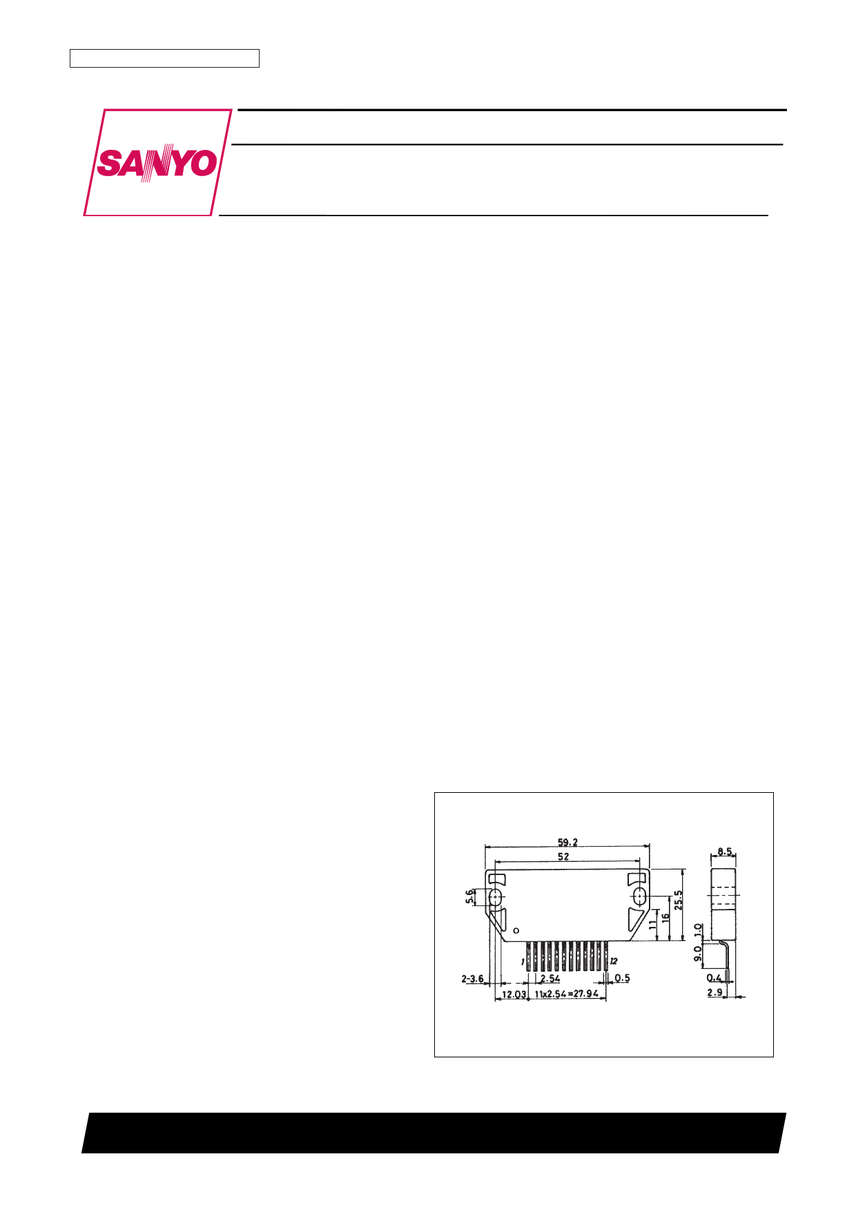 STK732C datasheet, circuit