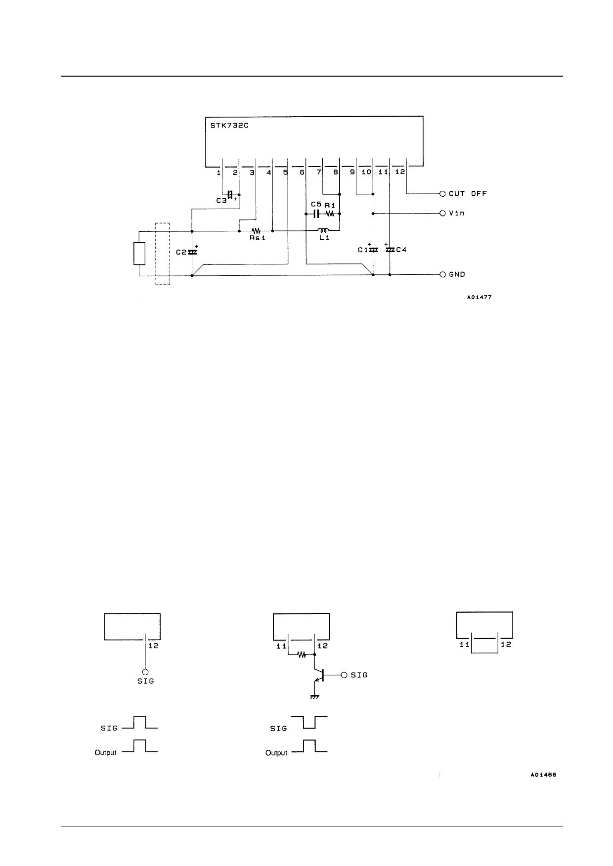 STK732C equivalent