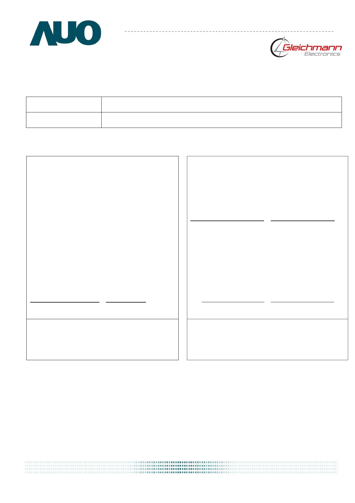 G084SN05-V8 دیتاشیت PDF