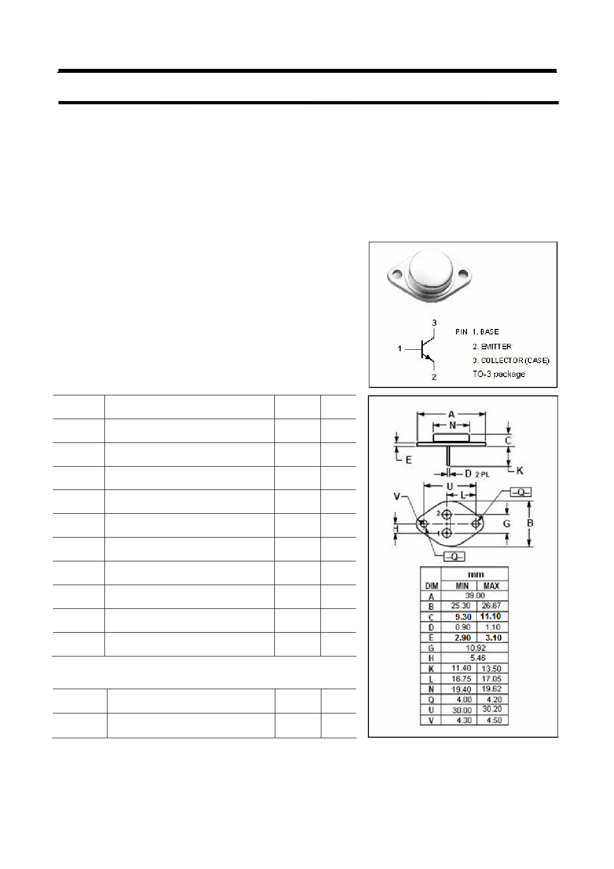 MJ8503 Datasheet
