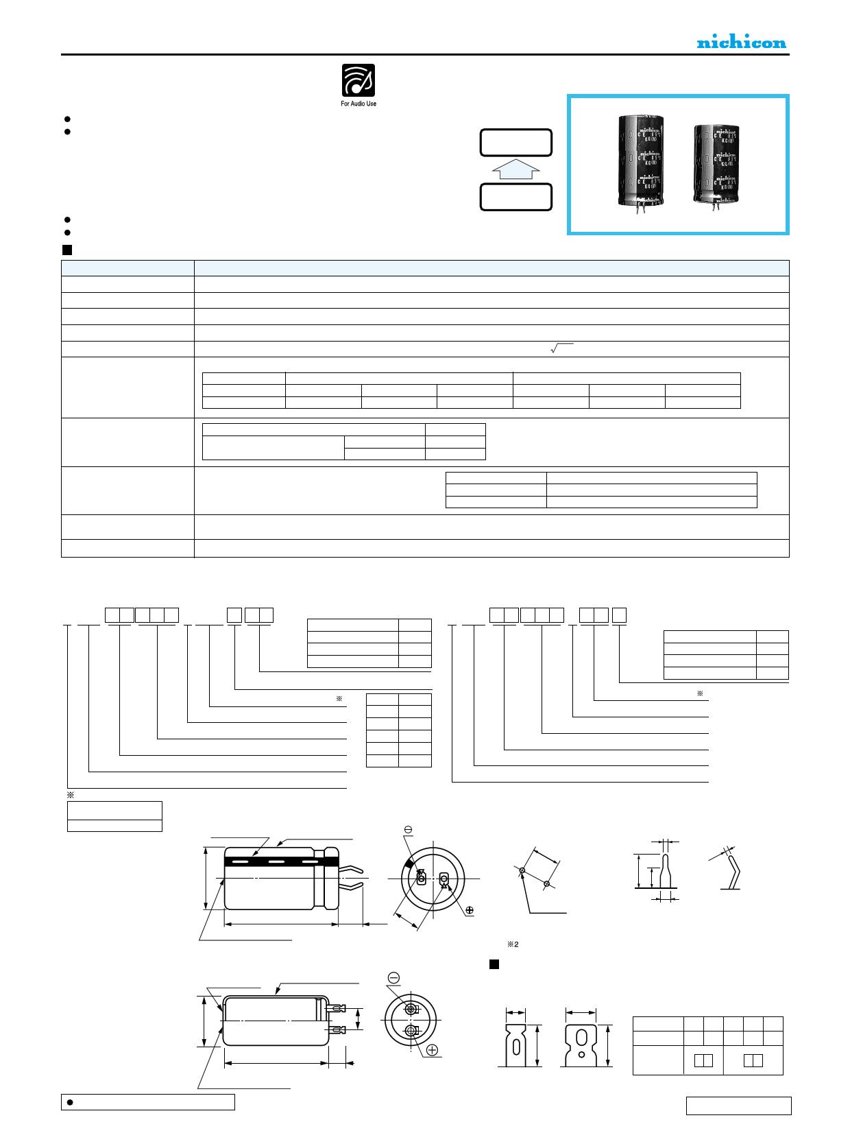 LKG2A821MESBCK دیتاشیت PDF