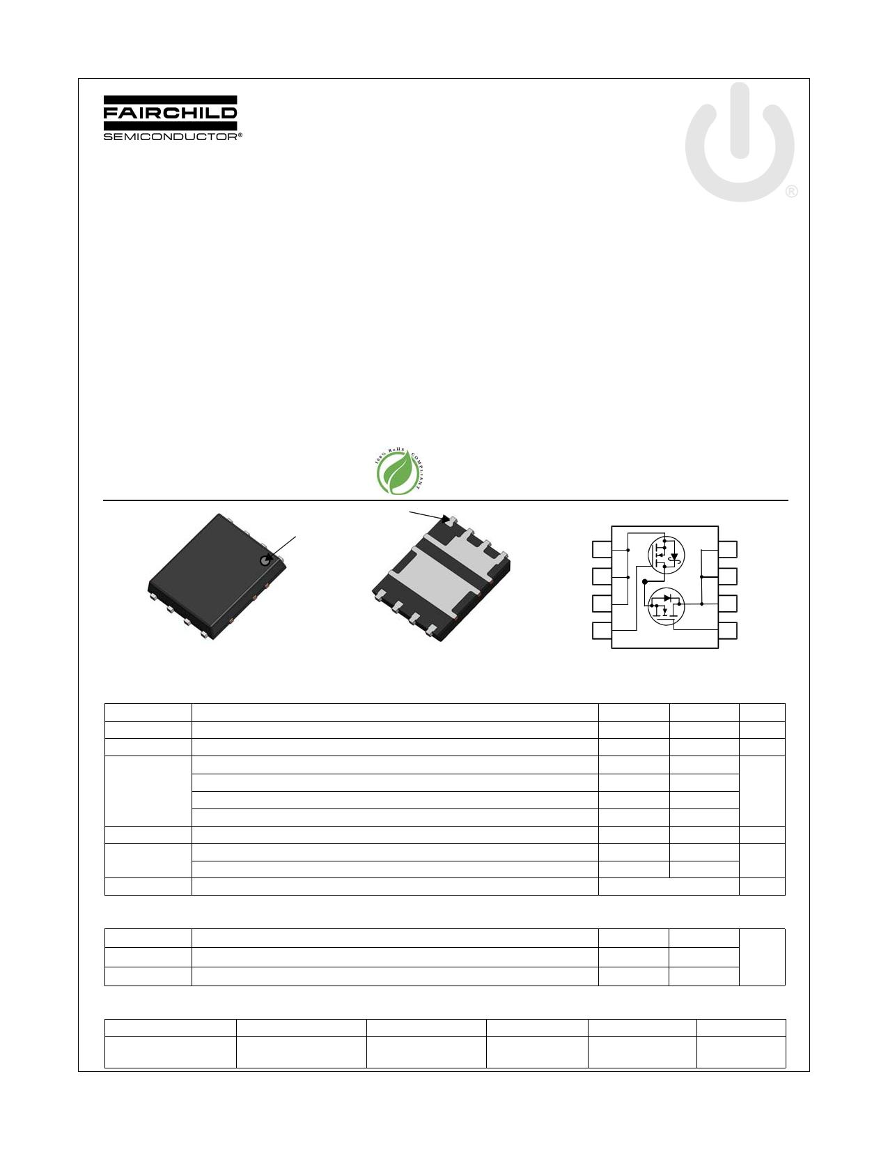 FDMS3669S 데이터시트 및 FDMS3669S PDF