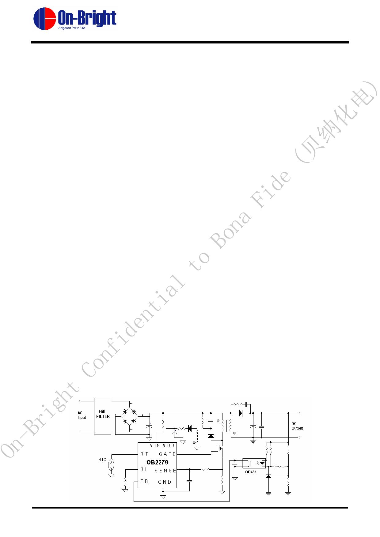 OB2279 datasheet