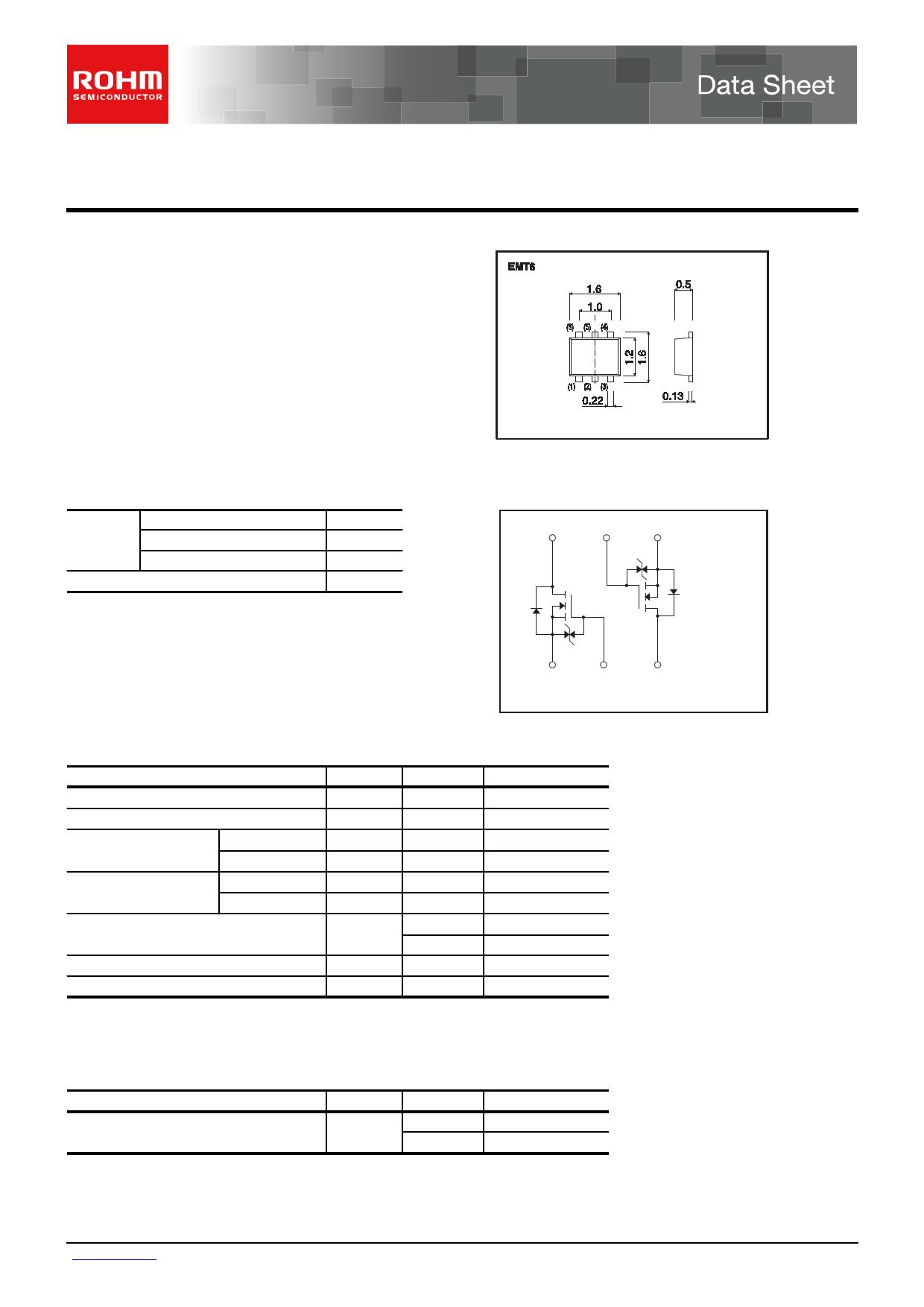 EM6K33 데이터시트 및 EM6K33 PDF