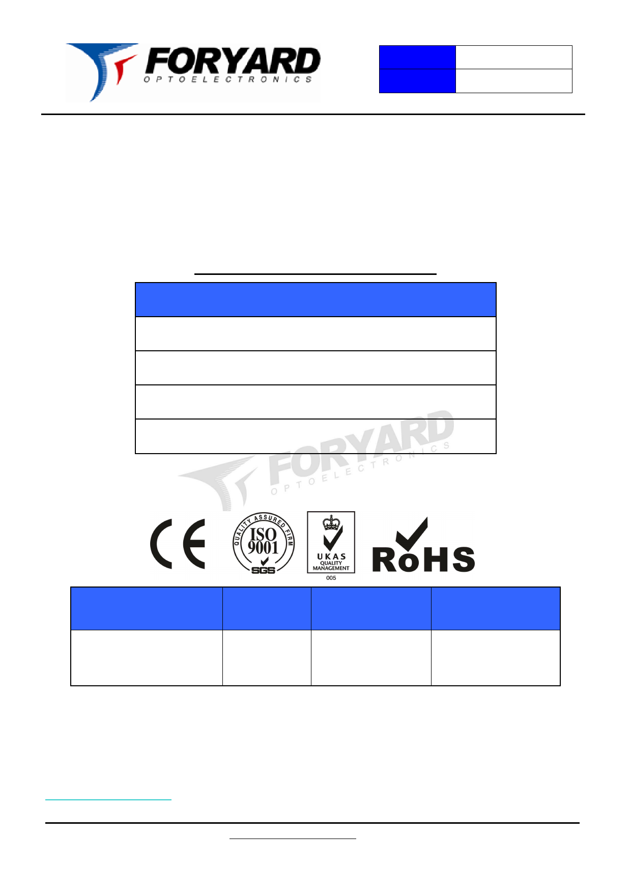 FYL-5013IRBC1C دیتاشیت PDF