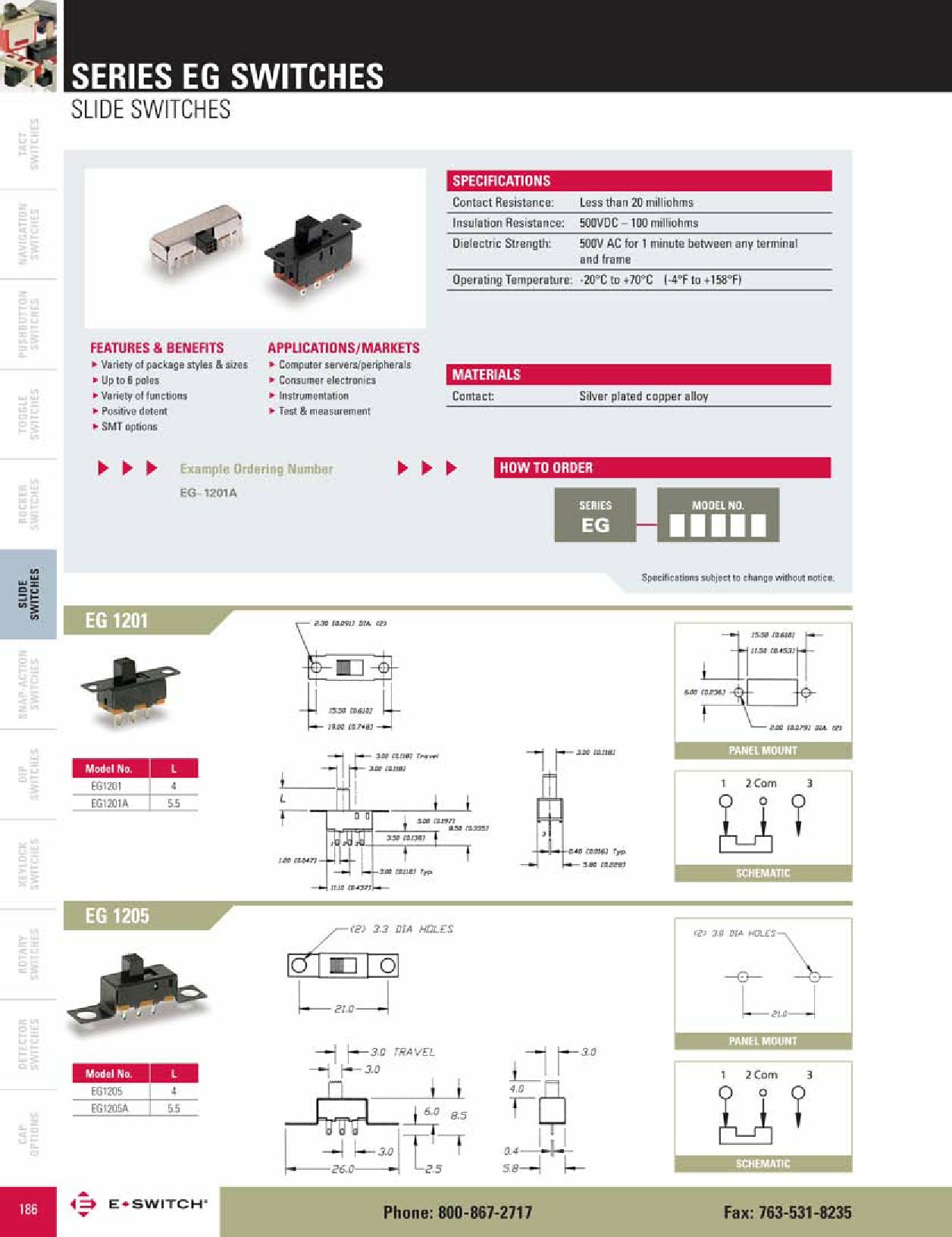 EG2208 دیتاشیت PDF