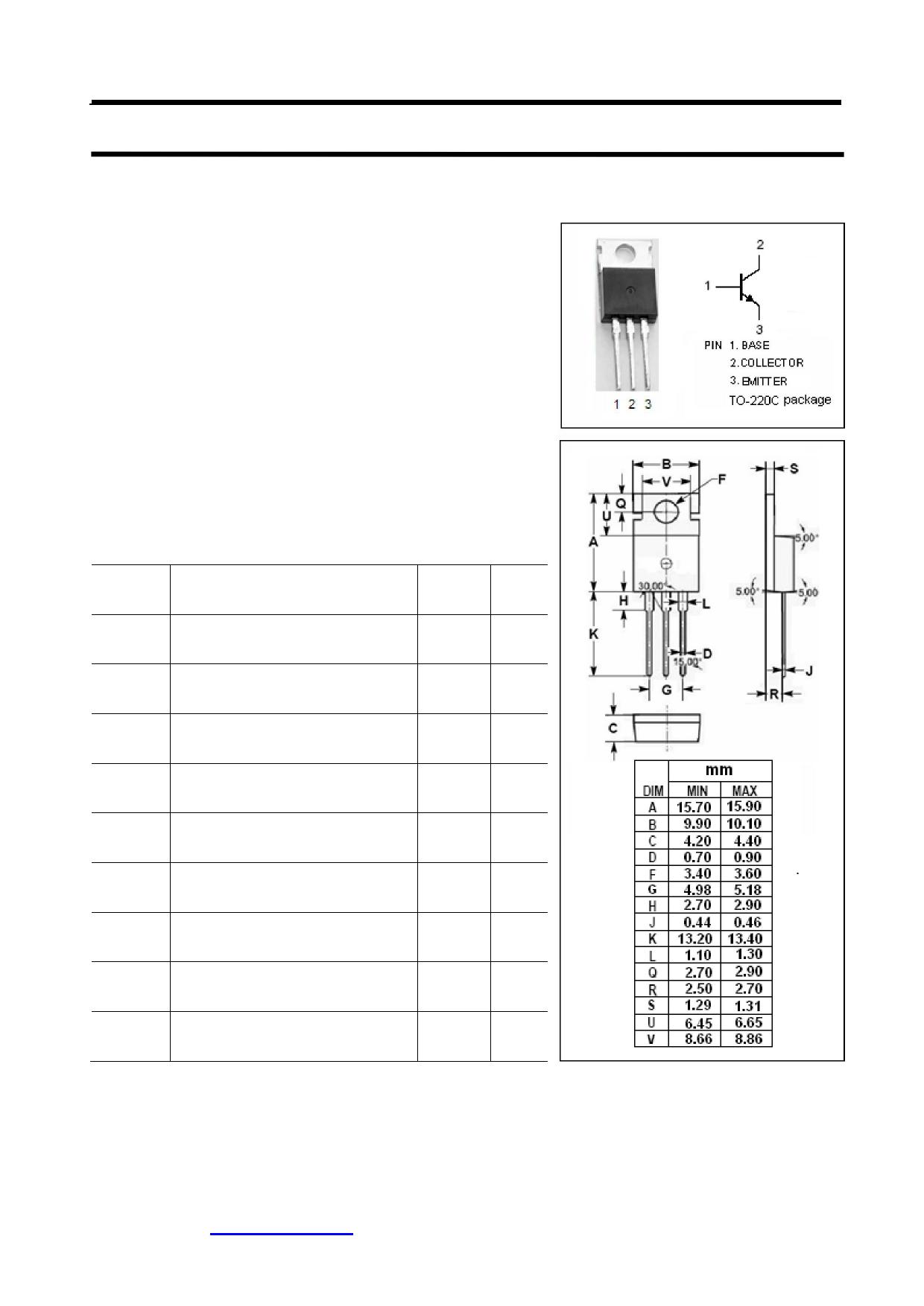 BUL58B Datasheet, BUL58B PDF,ピン配置, 機能