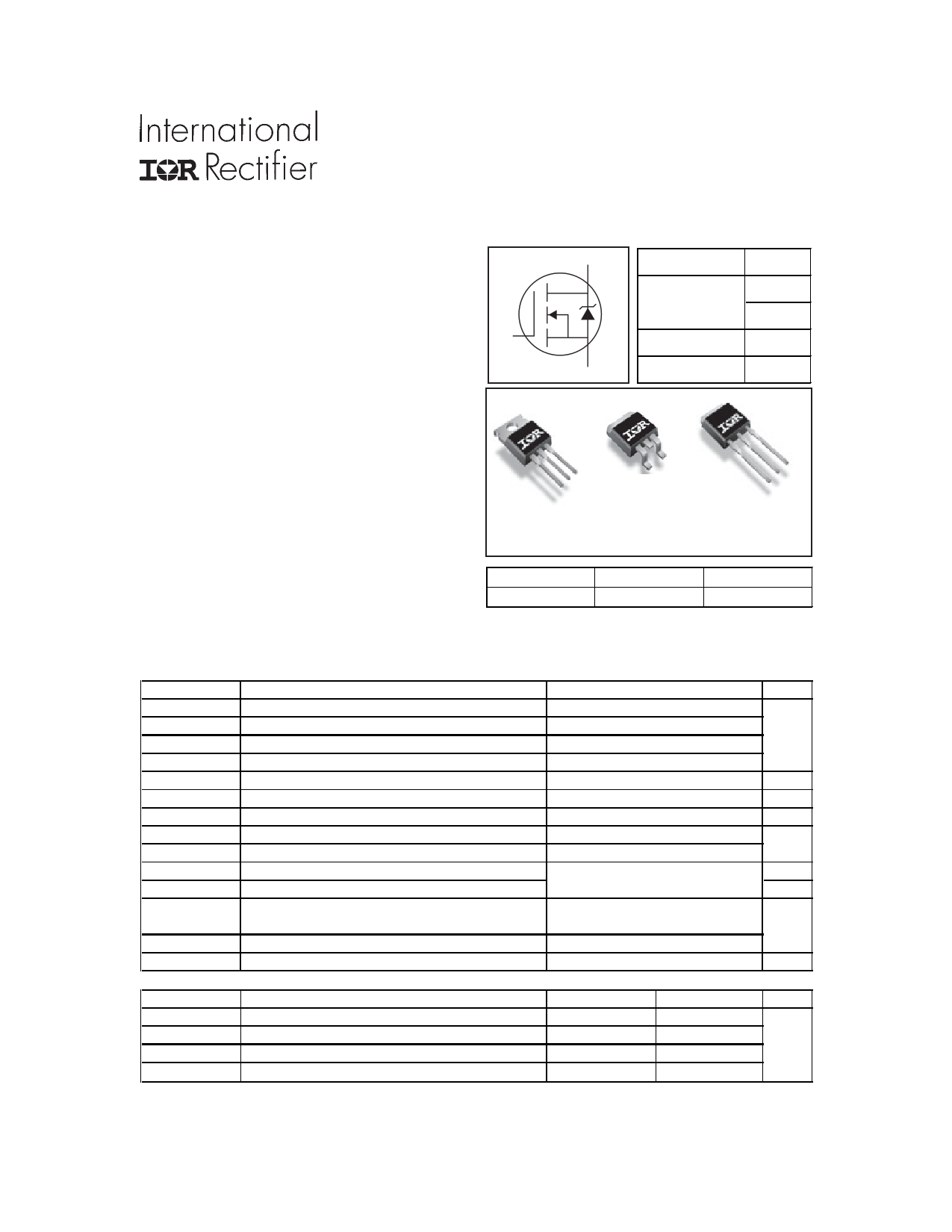 AUIRL1404ZS datasheet, circuit