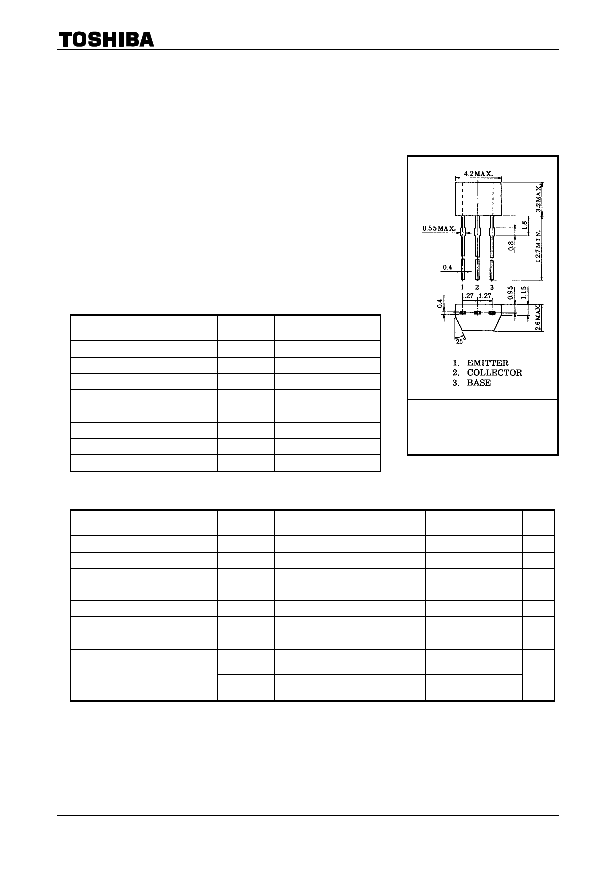 2SC2458 Datasheet, 2SC2458 PDF,ピン配置, 機能