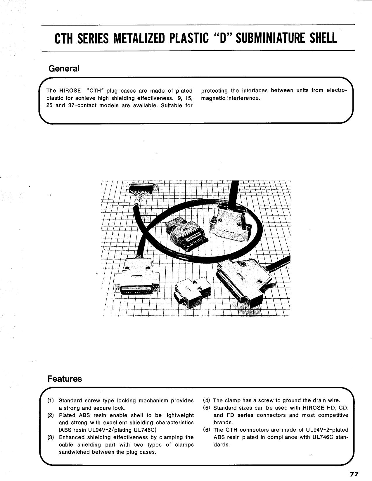 HDB-CTH دیتاشیت PDF