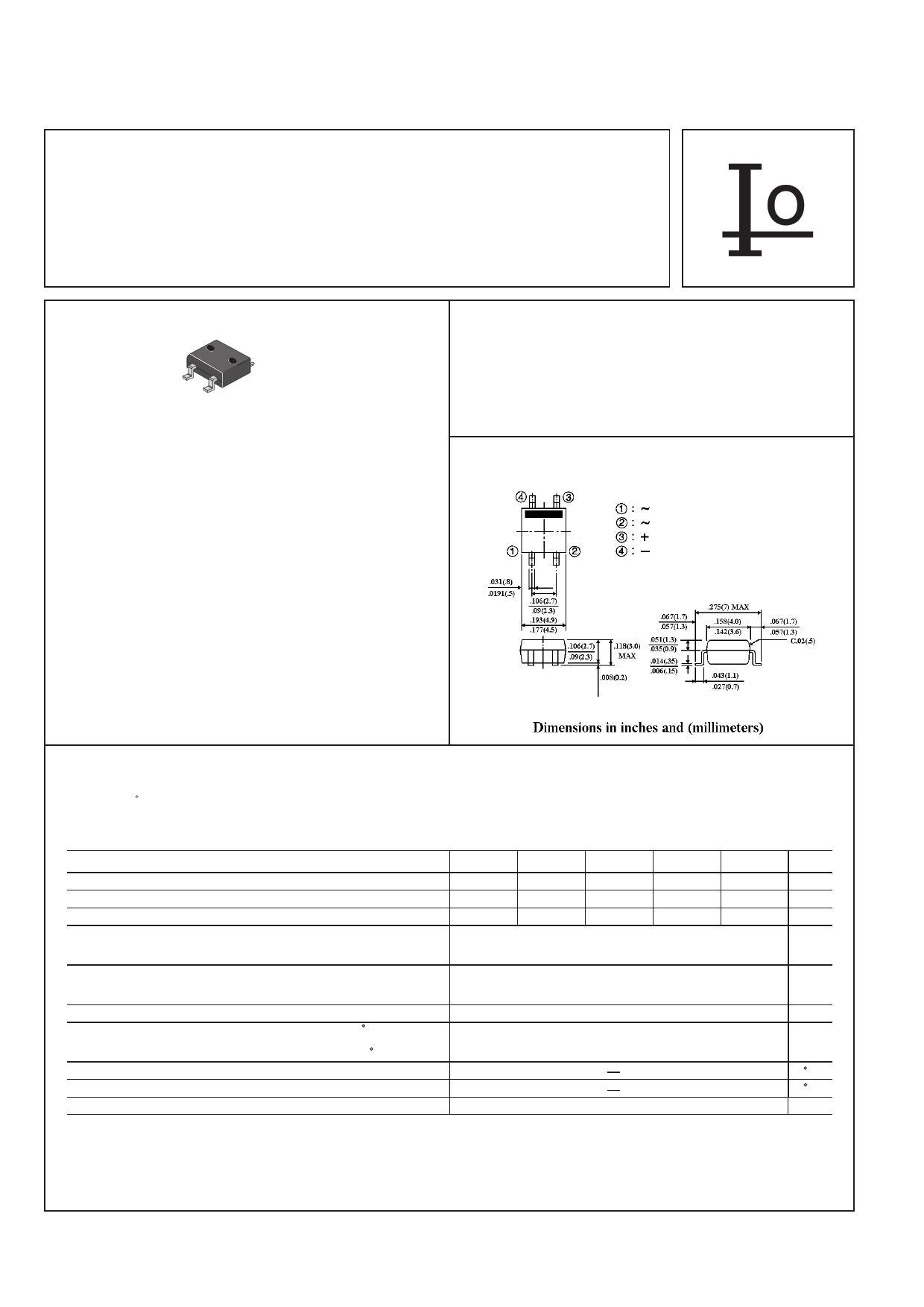 B8S datasheet