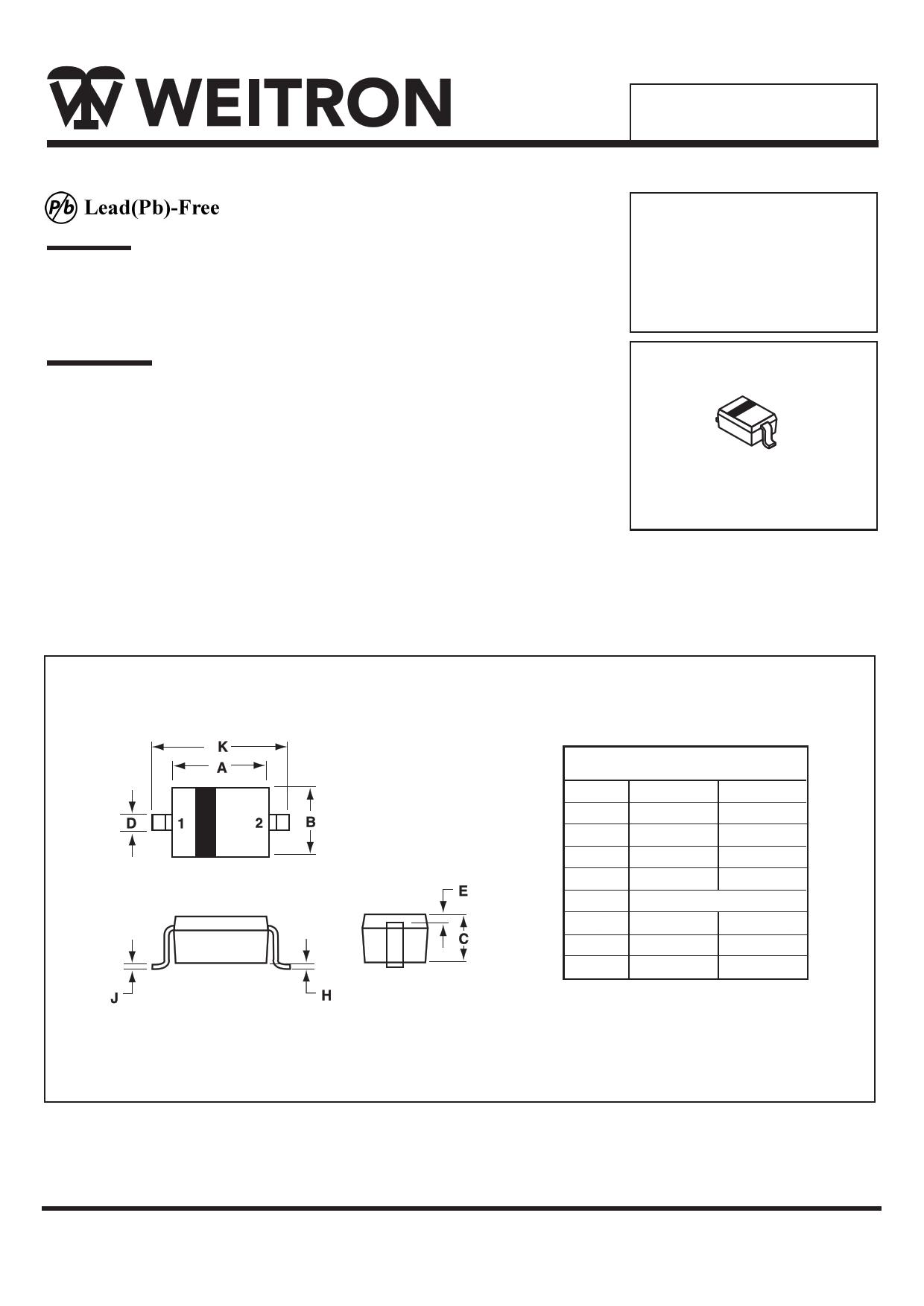 B0520W datasheet