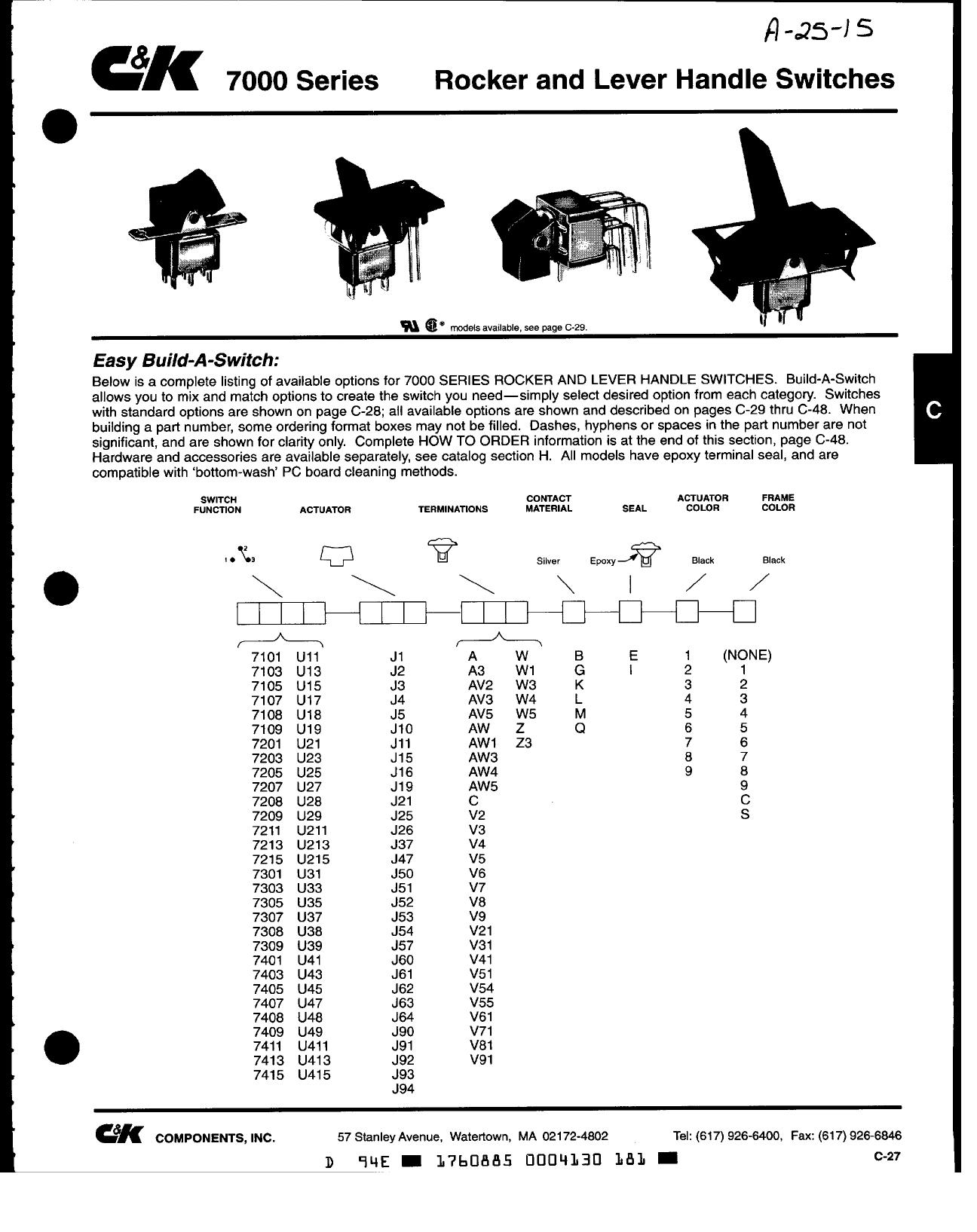 7000 دیتاشیت PDF