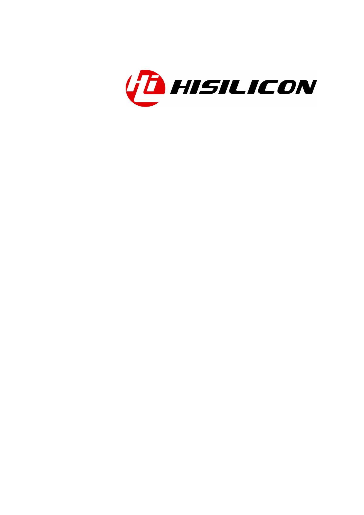 Hi3520 datasheet, circuit