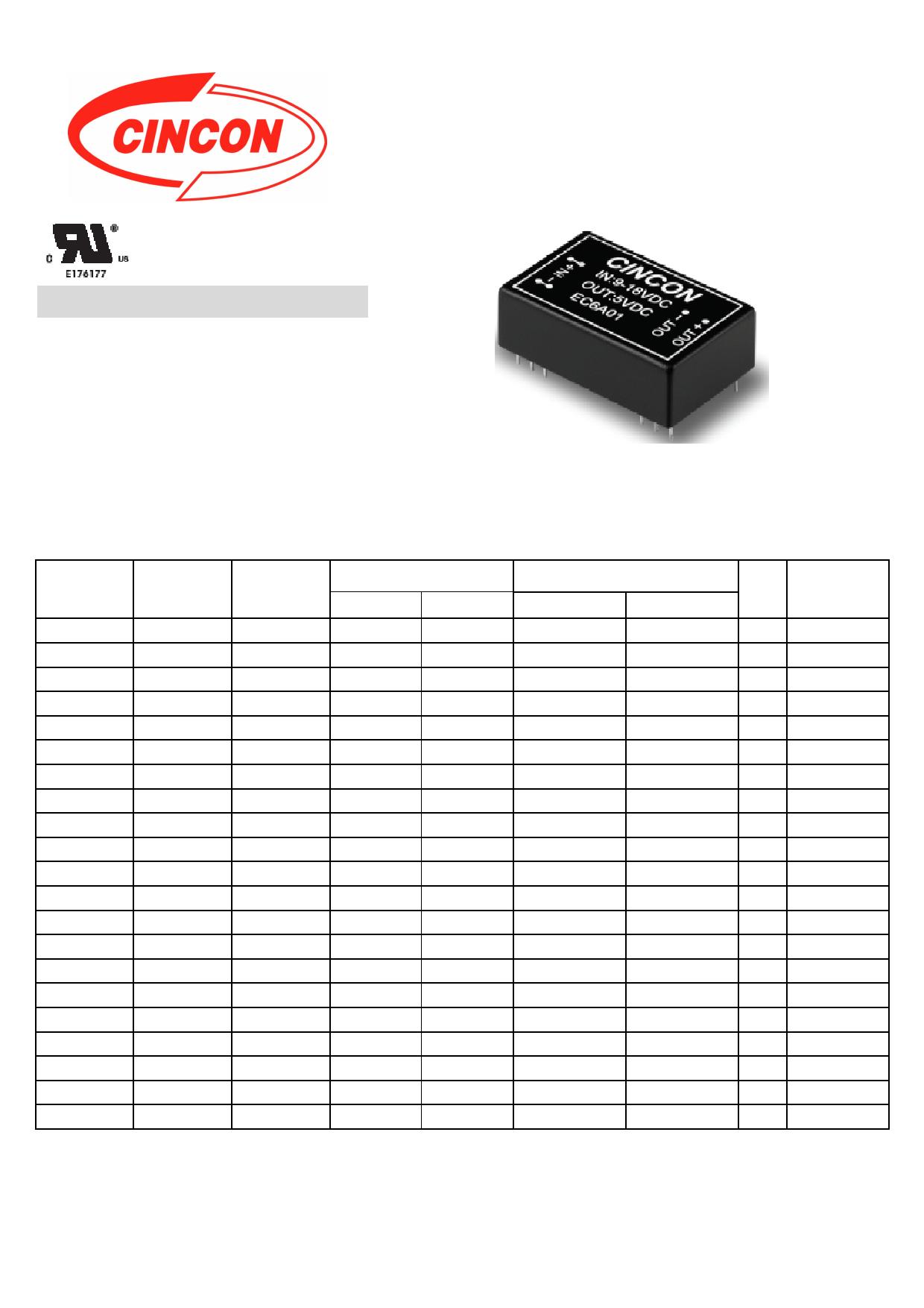 EC6A01 دیتاشیت PDF