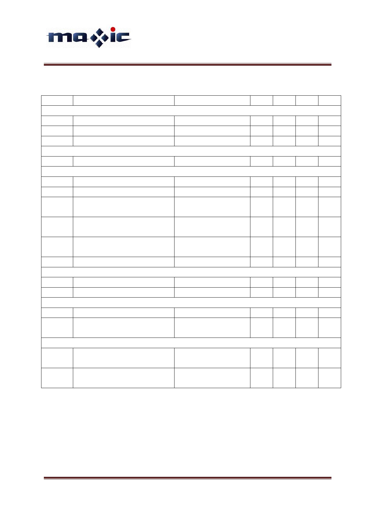 MT7933 pdf, ピン配列