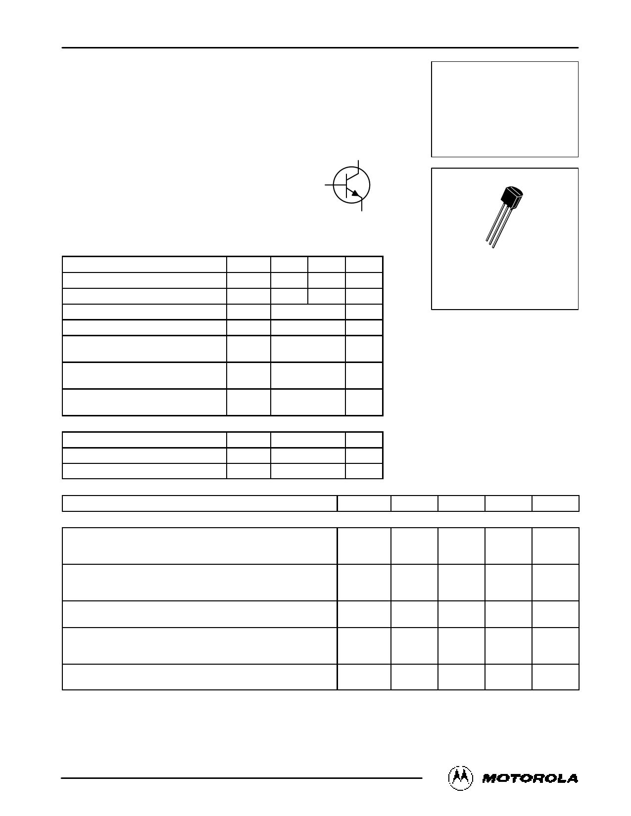 BC550C 데이터시트 및 BC550C PDF